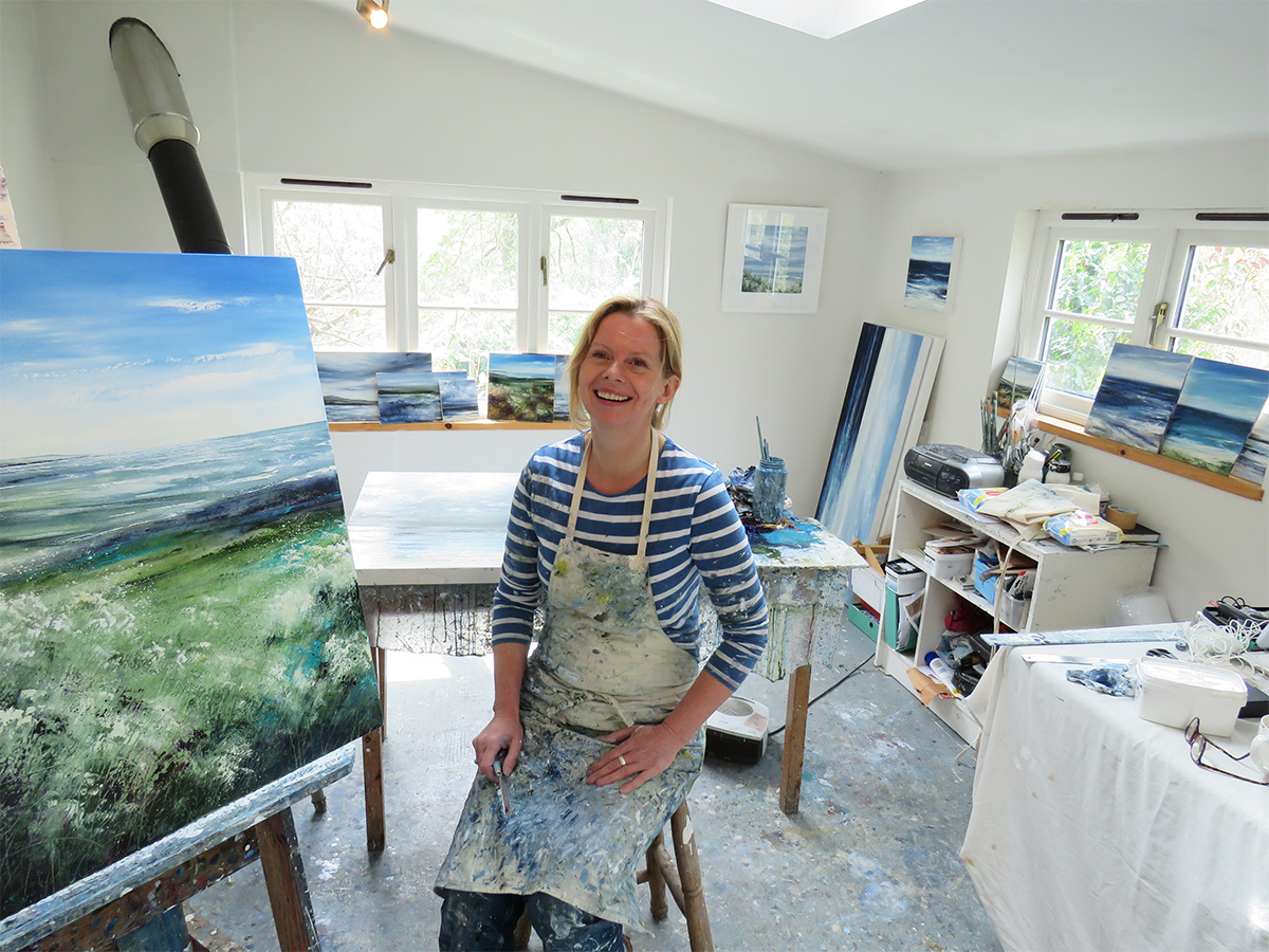 Profile of Tess Armitage - Contemporary Landscape Artist, Somerset