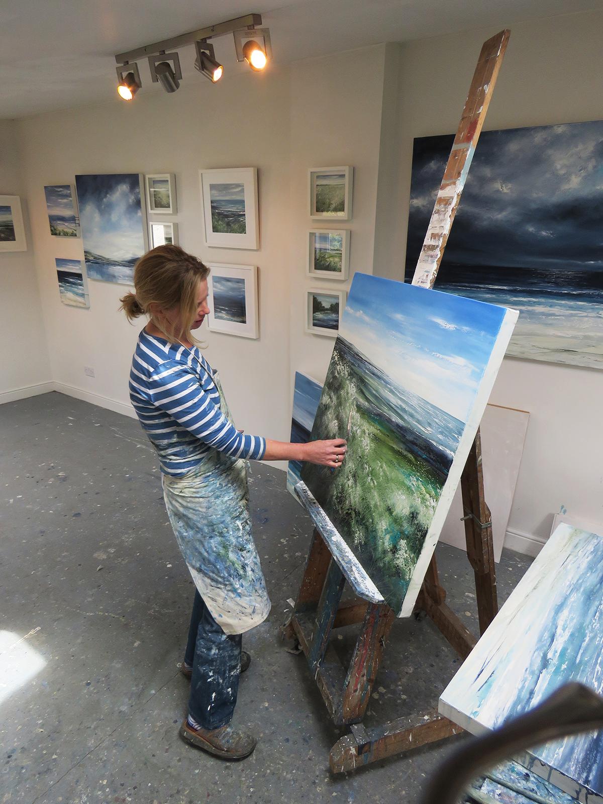 Contemporary Landscape Artist, Tess Armitage