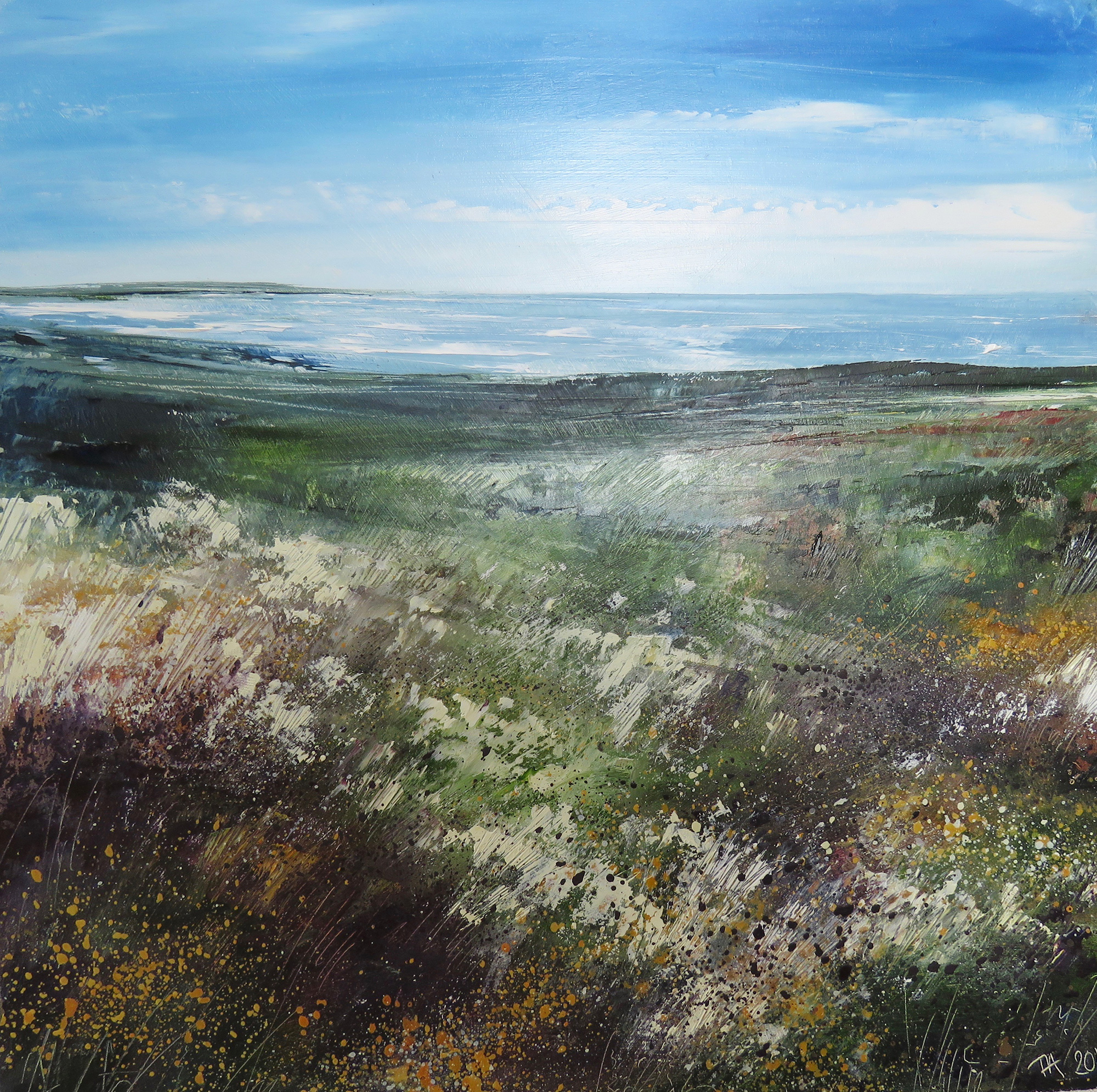 Heather & Gorse by Tess Armitage